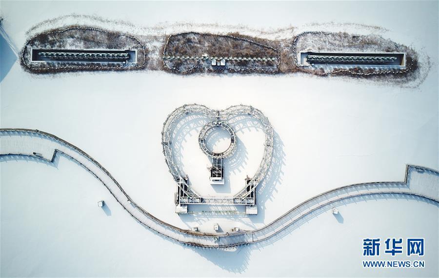 (美丽中国)(3)塞上湖城 银装素裹