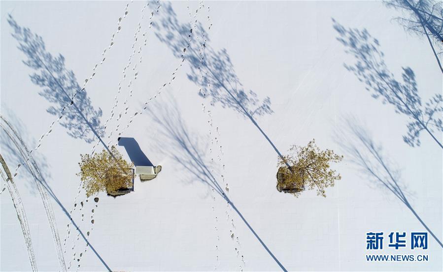 (美丽中国)(5)塞上湖城 银装素裹