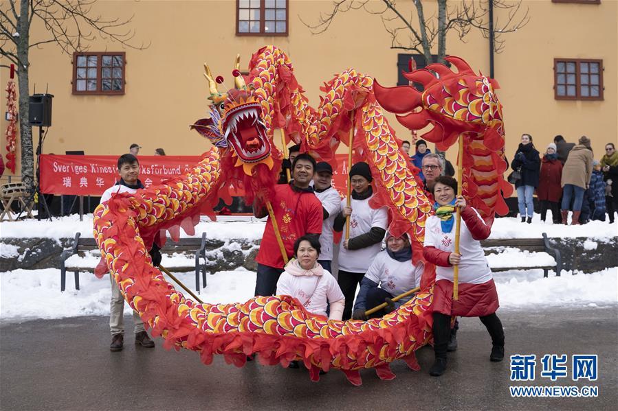 (国际)(4)披红挂彩环球年味浓