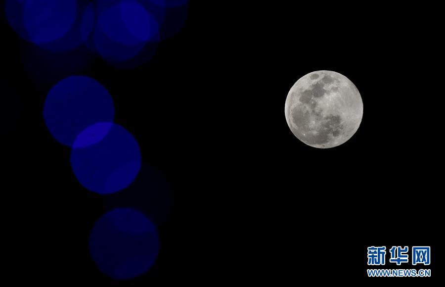 超级月亮遇佳节 元宵满月更圆满