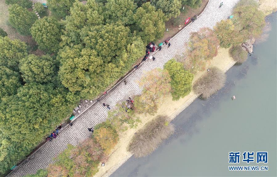 #(社会)(1)安徽巢湖:乐享春光
