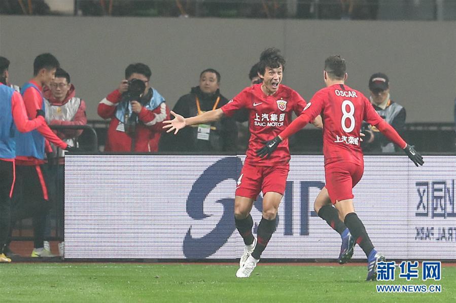 (体育)(4)足球——超级杯:上海上港夺冠