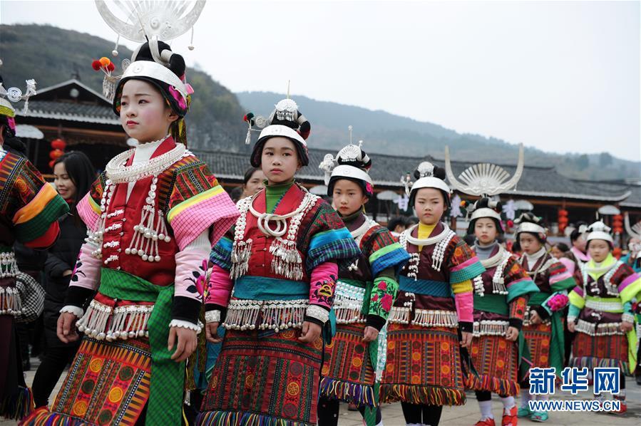 (文化)(4)贵州凯里:盛装起舞闹新春