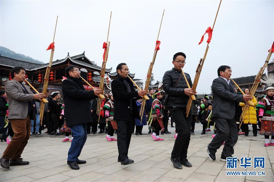 (文化)(8)贵州凯里:盛装起舞闹新春