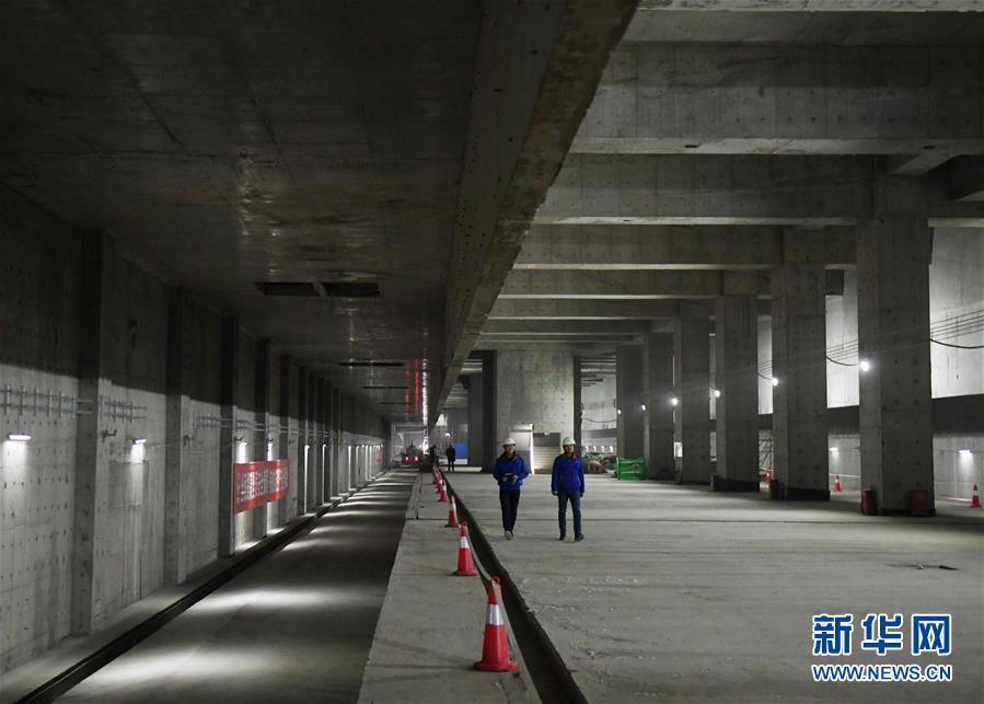 (社会)(1)京雄城际铁路北京新机场站主体工程完工