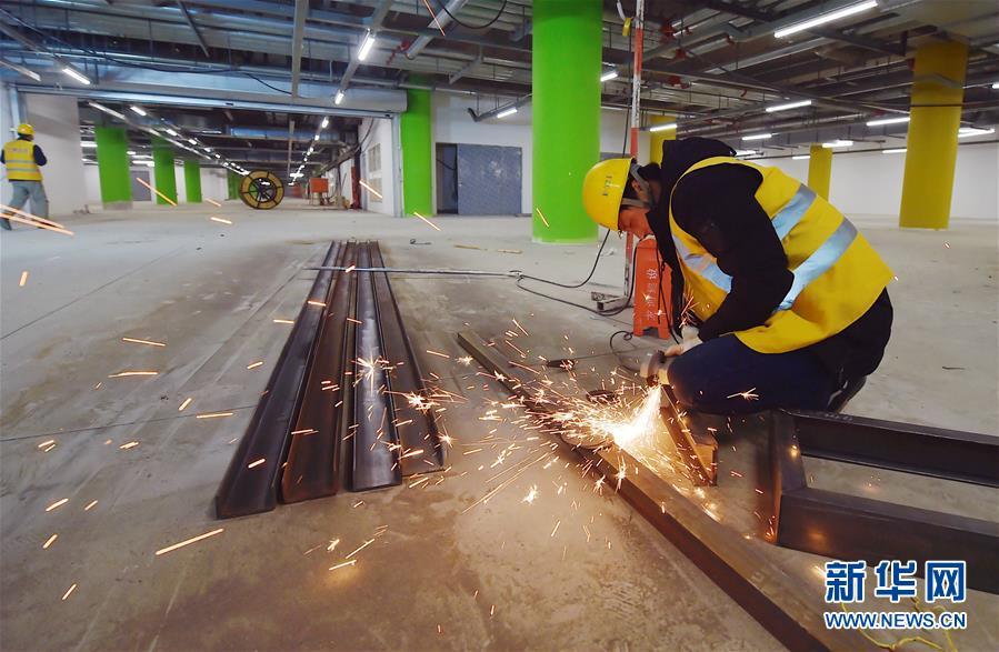(社会)(2)京雄城际铁路北京新机场站主体工程完工