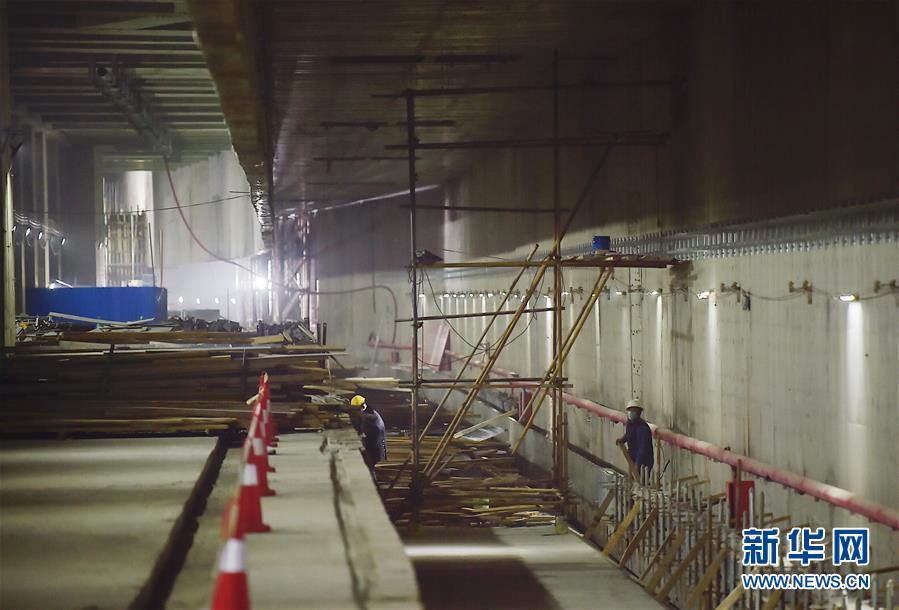 (社会)(3)京雄城际铁路北京新机场站主体工程完工