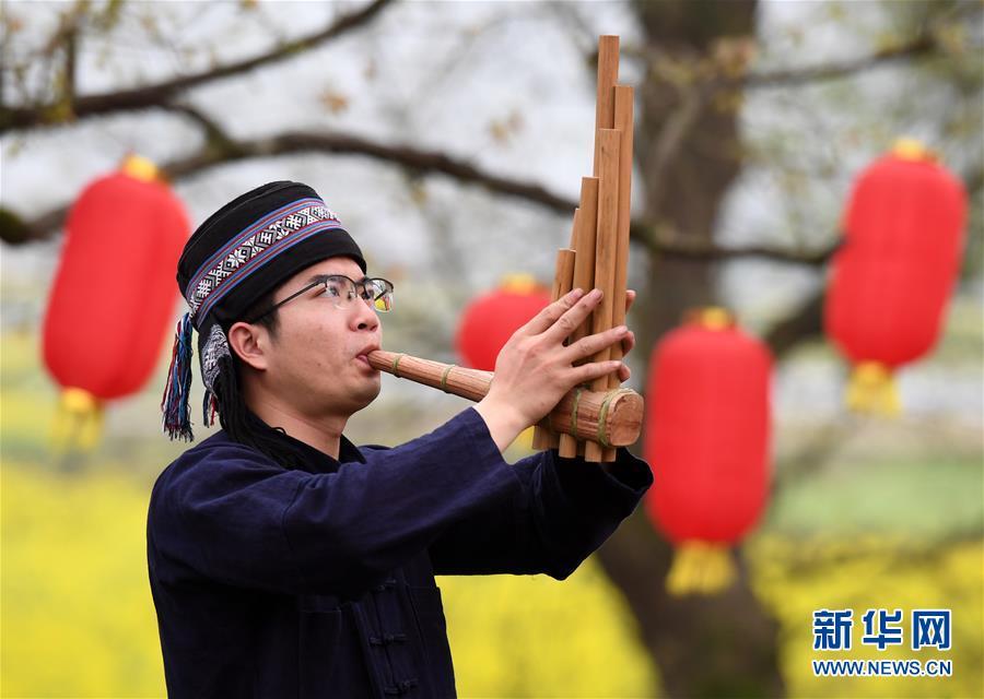 (图片故事)(1)瑶族青年的文化传承情
