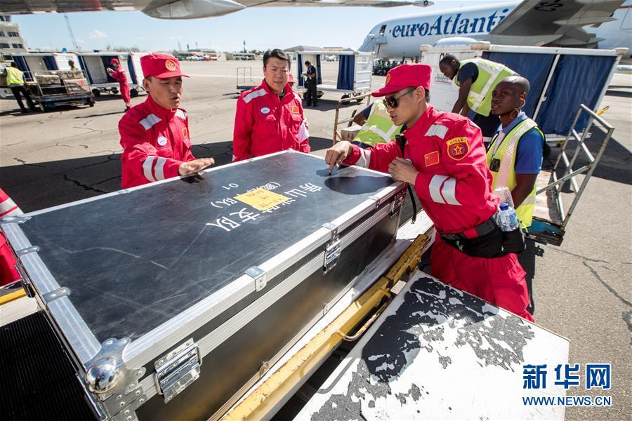 (国际)(1)中国救援队抵达莫桑比克灾区