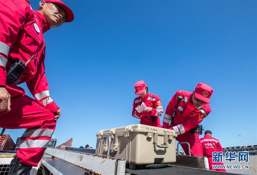 (国际)(3)中国救援队抵达莫桑比克灾区