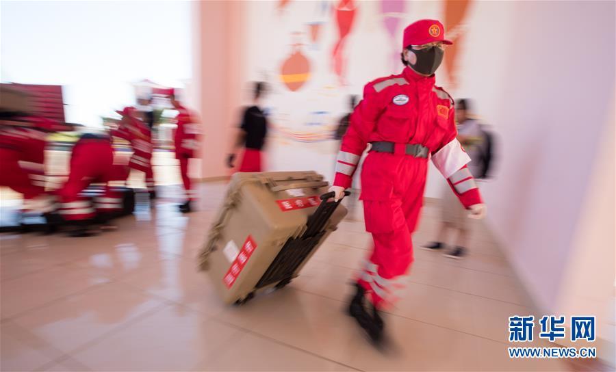(国际)(4)中国救援队抵达莫桑比克灾区