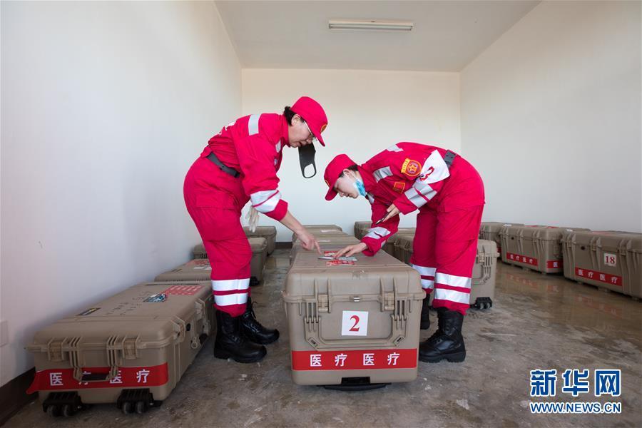 (国际)(6)中国救援队抵达莫桑比克灾区