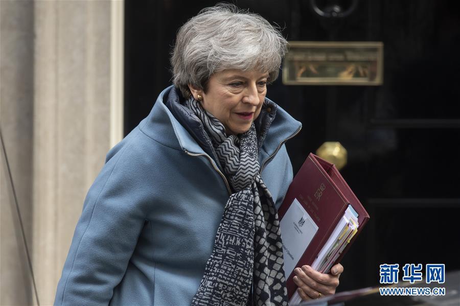 """(国际)(1)英国寻求进一步推迟""""脱欧"""""""