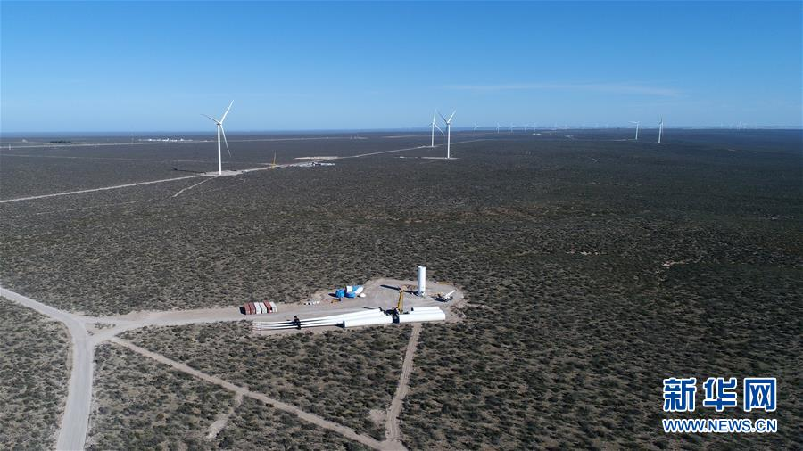 """(国际·""""一带一路""""高峰论坛·图文互动)(1)通讯:中国""""大风车""""助力阿根廷能源结构升级"""