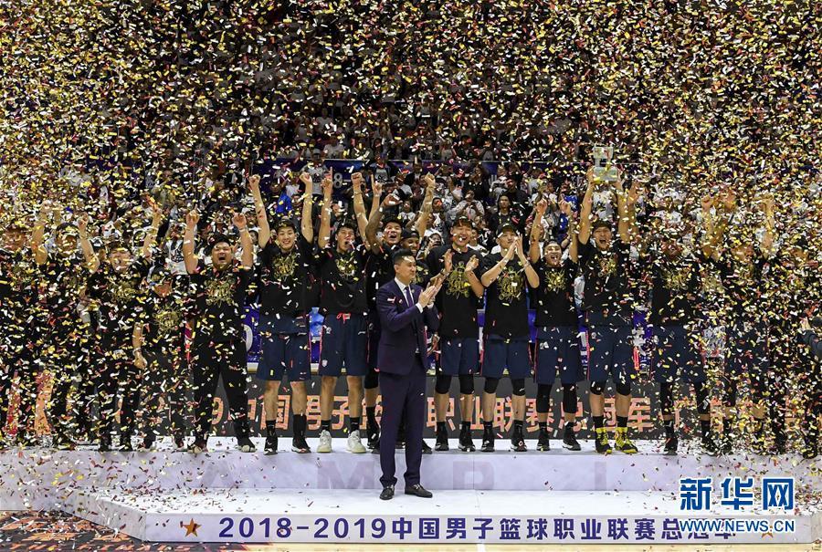 (体育)(2)篮球——CBA总决赛:广东东莞银行夺冠