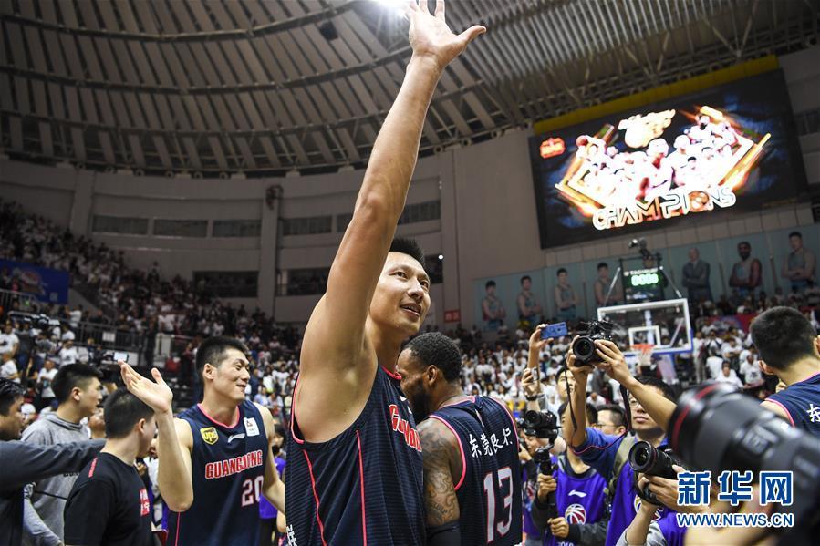 (体育)(3)篮球——CBA总决赛:广东东莞银行夺冠