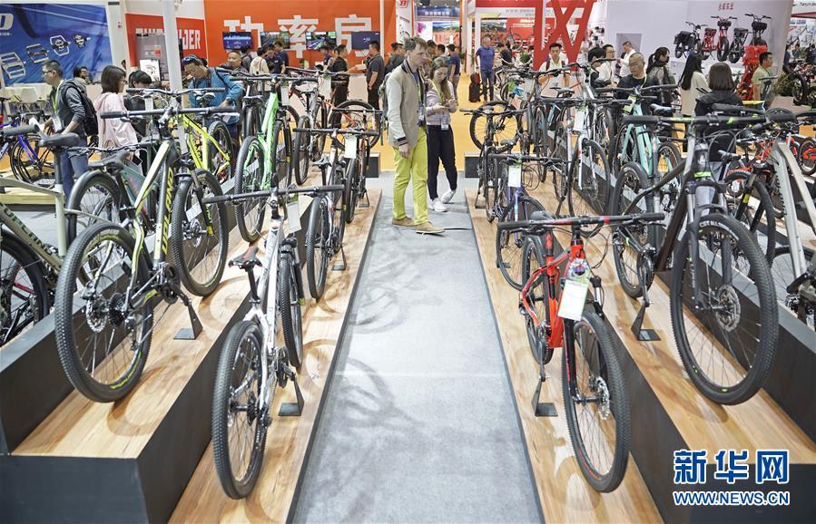 (社会)(3)第29届中国国际自行车展览会在沪开幕