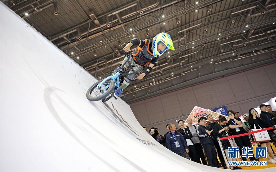 (社会)(4)第29届中国国际自行车展览会在沪开幕