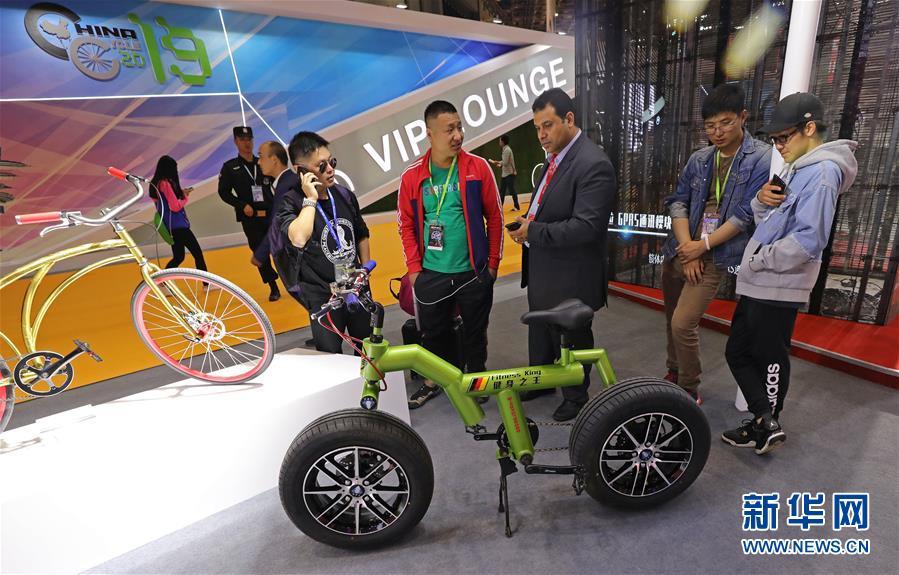 (社会)(5)第29届中国国际自行车展览会在沪开幕