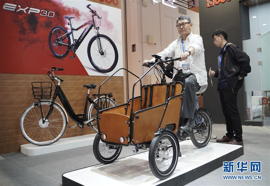 (社会)(2)第29届中国国际自行车展览会在沪开幕
