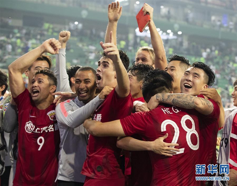 (体育)(3)足球——亚冠:上海上港胜全北现代晋级八强