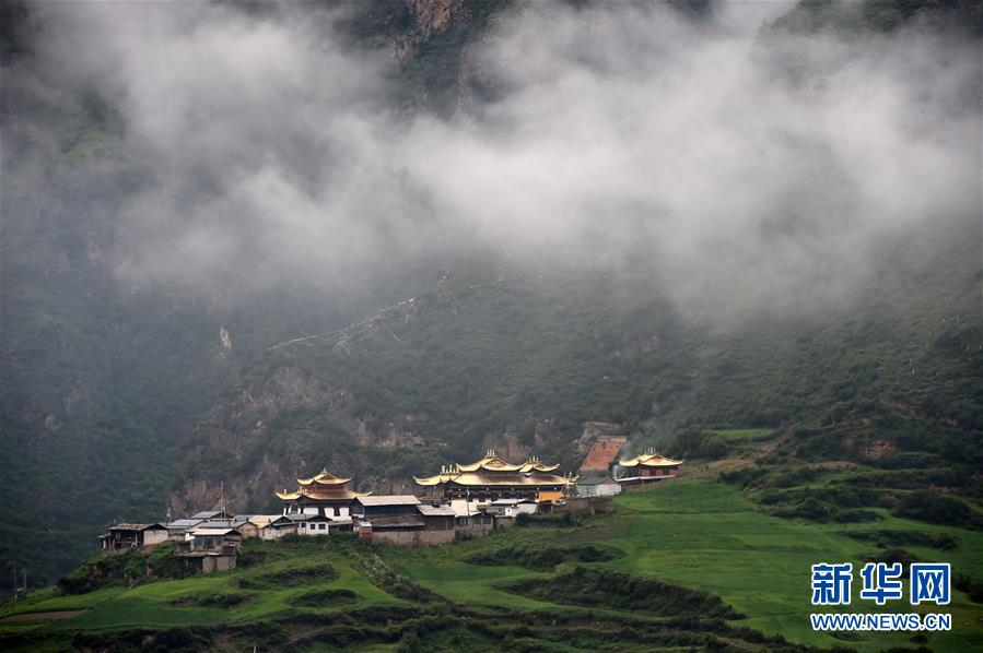 (美丽中国)(5)雾中仙境——扎尕那