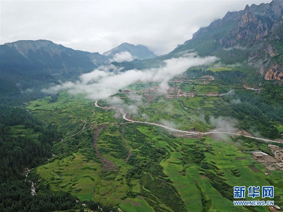 (美丽中国)(13)雾中仙境——扎尕那