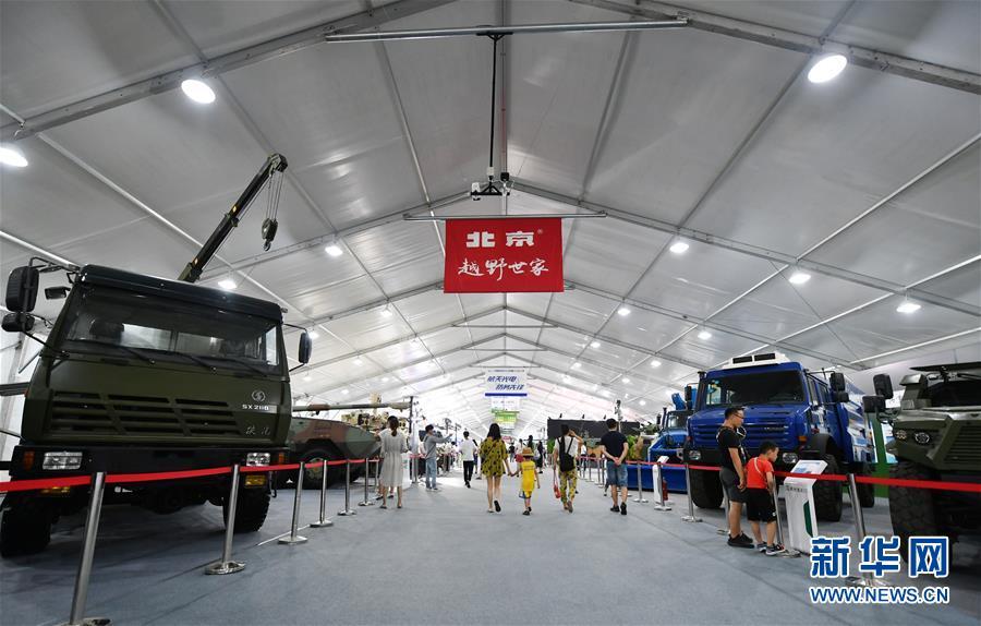 (社会)(2)天津:防务车辆装备展 带你过足瘾