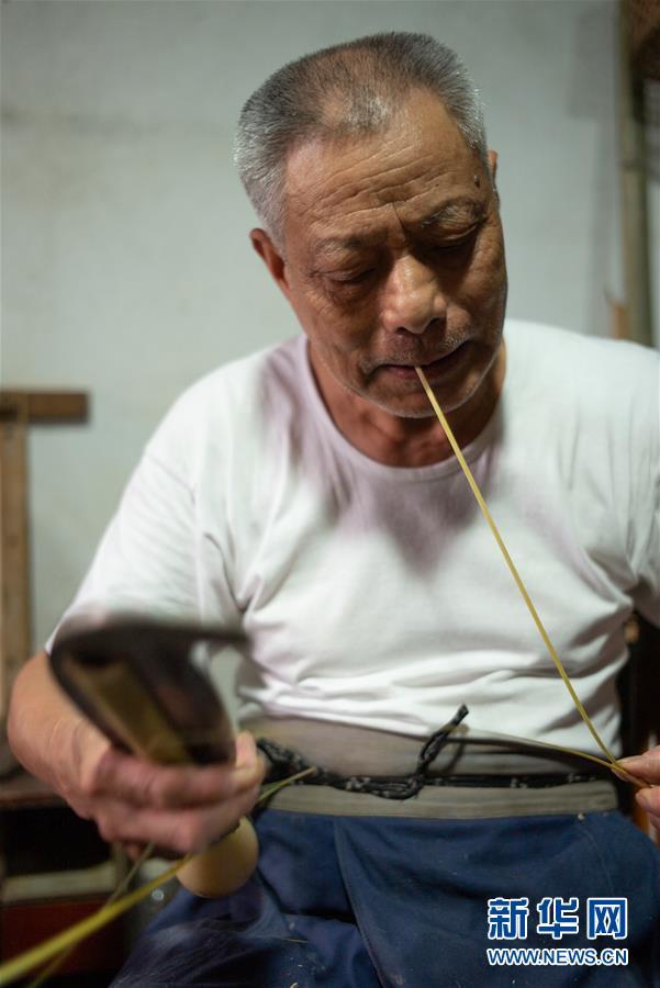 (文化)(6)浙江德清:马吉林的手艺坚守