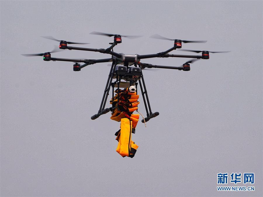 (社会)(1)全国警用无人机教官考官培训班举行无人机实战演练