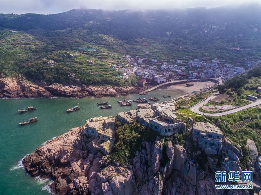 """(美丽中国)(4)""""碧海仙山""""南麂岛打造海岛特色民宿"""