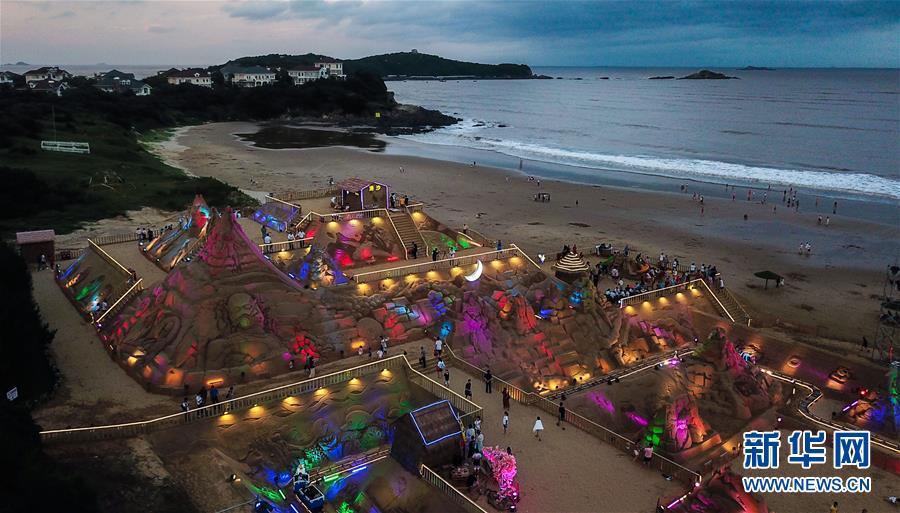 (美丽中国)(1)舟山国际沙雕节开幕