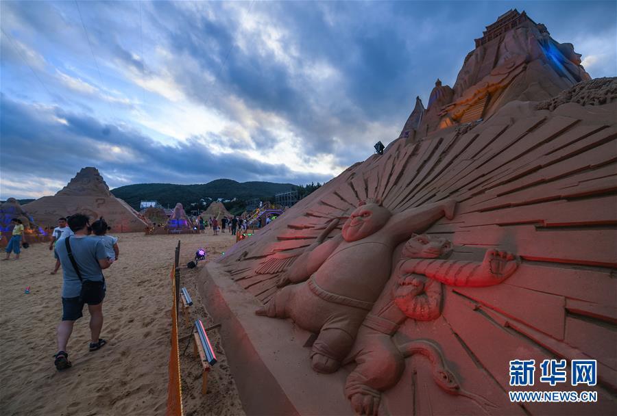 (美丽中国)(2)舟山国际沙雕节开幕