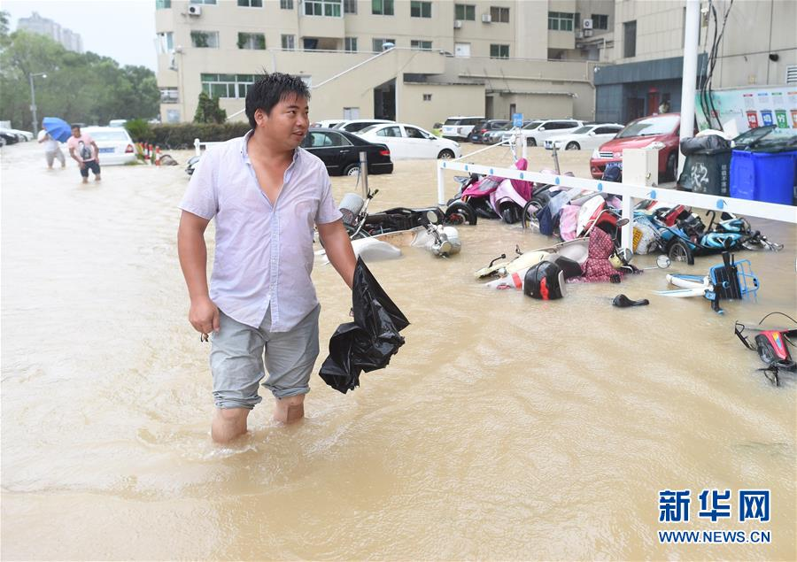 """(关注""""利奇马"""")(1)超强台风""""利奇马""""在浙江温岭登陆"""