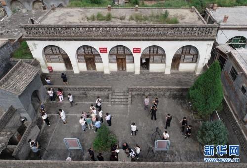 (新华全媒头条·壮丽70年·奋斗新时代——记者再走长征路·图文互动)(1)红星,从这里照耀中国——陕北见证中国革命的历史转折