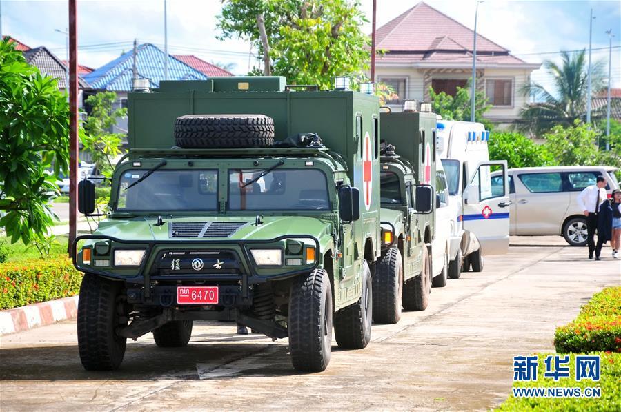 (国际·图文互动)(1)老挝车祸受伤的20名中国游客回国