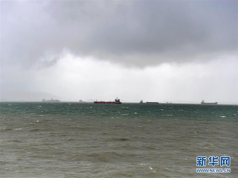 """(环境)(1)台风""""白鹿""""影响厦门"""