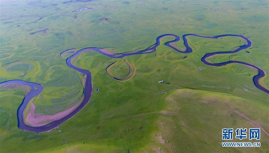 (美丽中国)(1)蜿蜒曲折的莫日格勒河