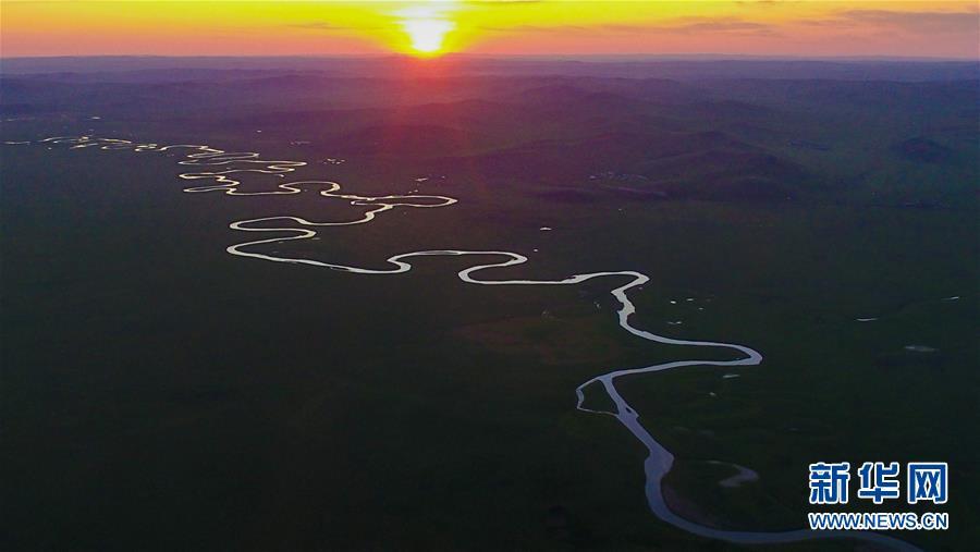 (美丽中国)(2)蜿蜒曲折的莫日格勒河