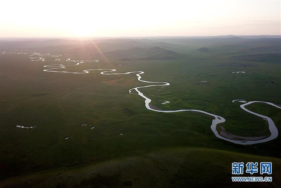 (美丽中国)(15)蜿蜒曲折的莫日格勒河