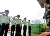 (新华网)(1)退伍战士站好最后一班岗