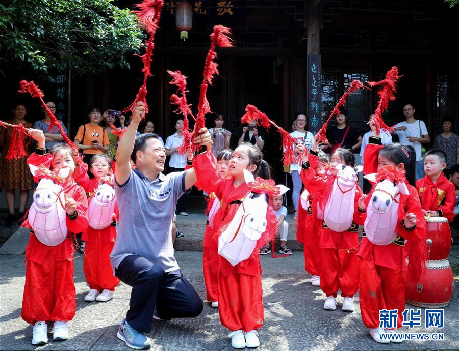 (教育)(3)浙江长兴:非遗文化进校园
