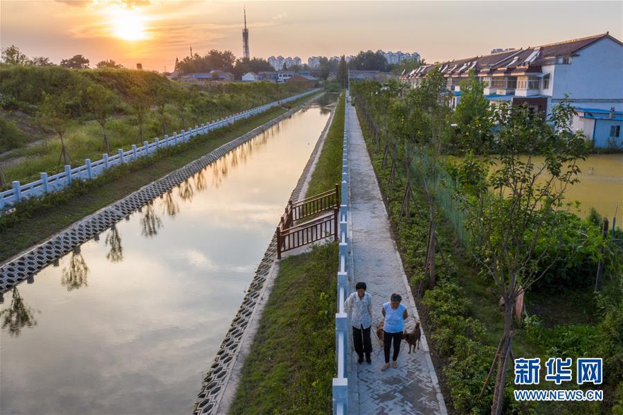 (社会)(1)江苏淮安:整治水环境 提升幸福感
