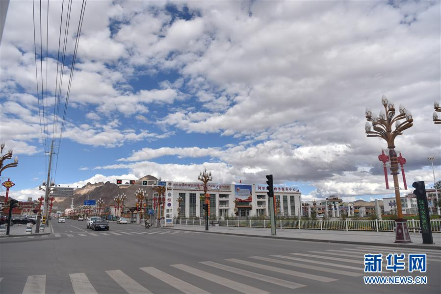 (图文互动)(1)红柳滩上的人间新城——藏西重镇狮泉河今昔记