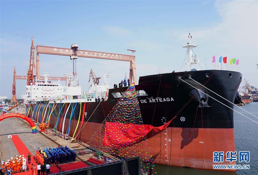 (经济)(1)大船集团山船重工建造的第100艘船交付