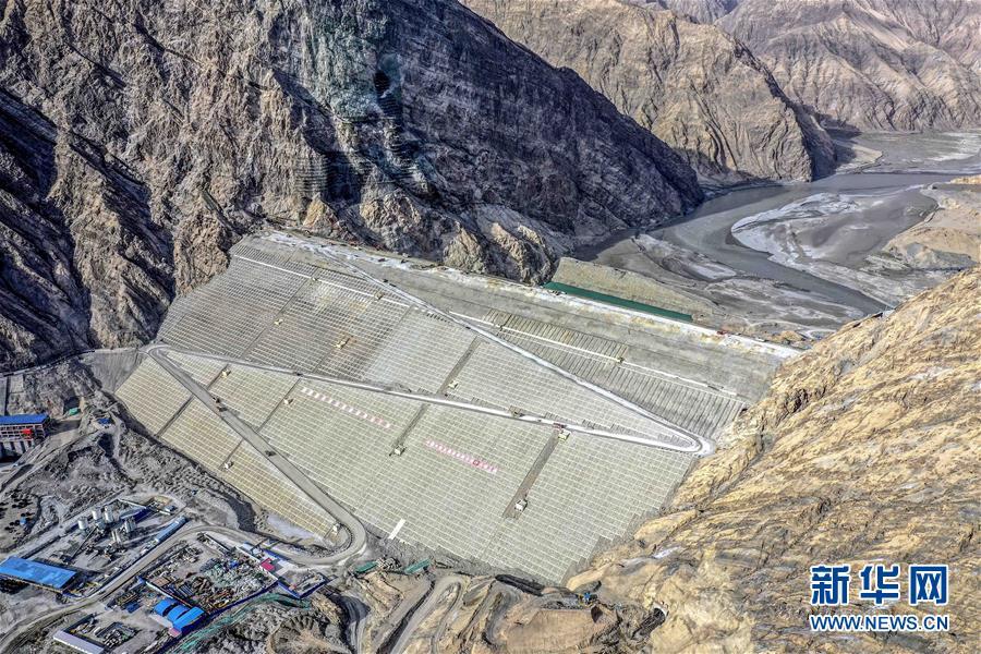 """(图文互动)(1)""""新疆三峡""""主体完工 叶尔羌河流域将告别千年水患"""