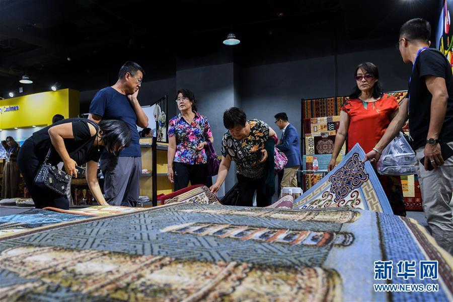 (经济)(1)第三届中国-蒙古国博览会开幕