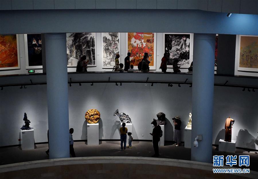(XHDW)(1)2019今日丝绸之路国际美术邀请展开幕