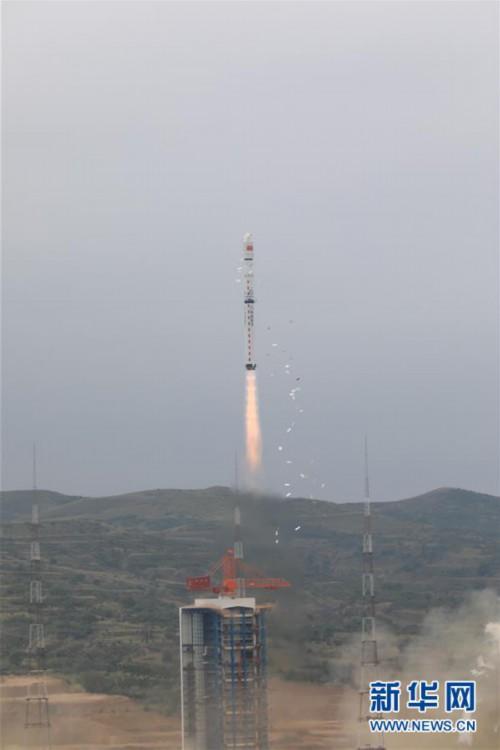 (航天)(3)我国成功发射资源一号02D卫星 搭载发射京师一号卫星和金牛座纳星