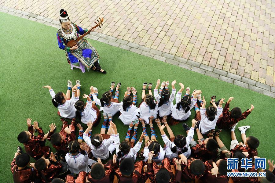 (教育)(1)贵州榕江:民族文化传承从娃娃抓起